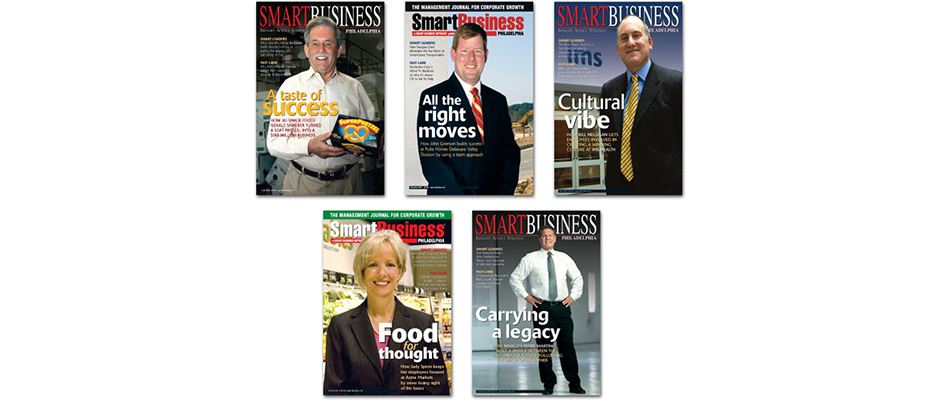 SmartBusiness Magazine Covers Banner
