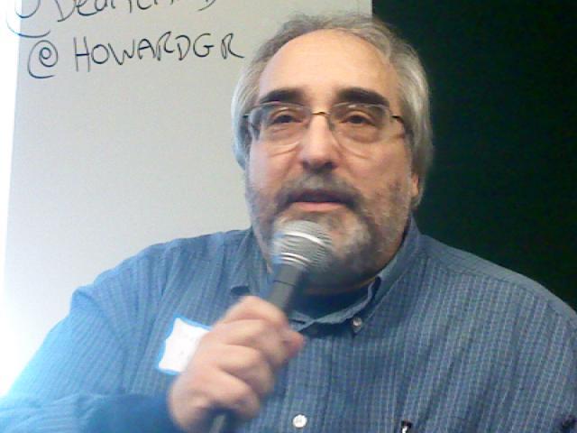 Dean Landsman presenting