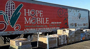 Food Bank of South Jersey commissions video about HopeMobile remote food distribution