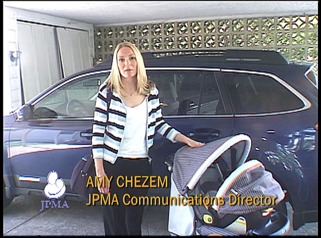Amy Chezem of JPMA in new travel safety video
