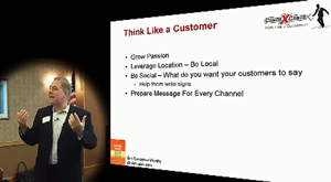 Bank Marketing Association presentation on customer service by Michael Hoffman of Client X Client