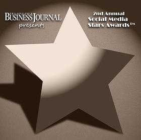 Philadelphia Business Journal 2012 Social Media Stars Logo