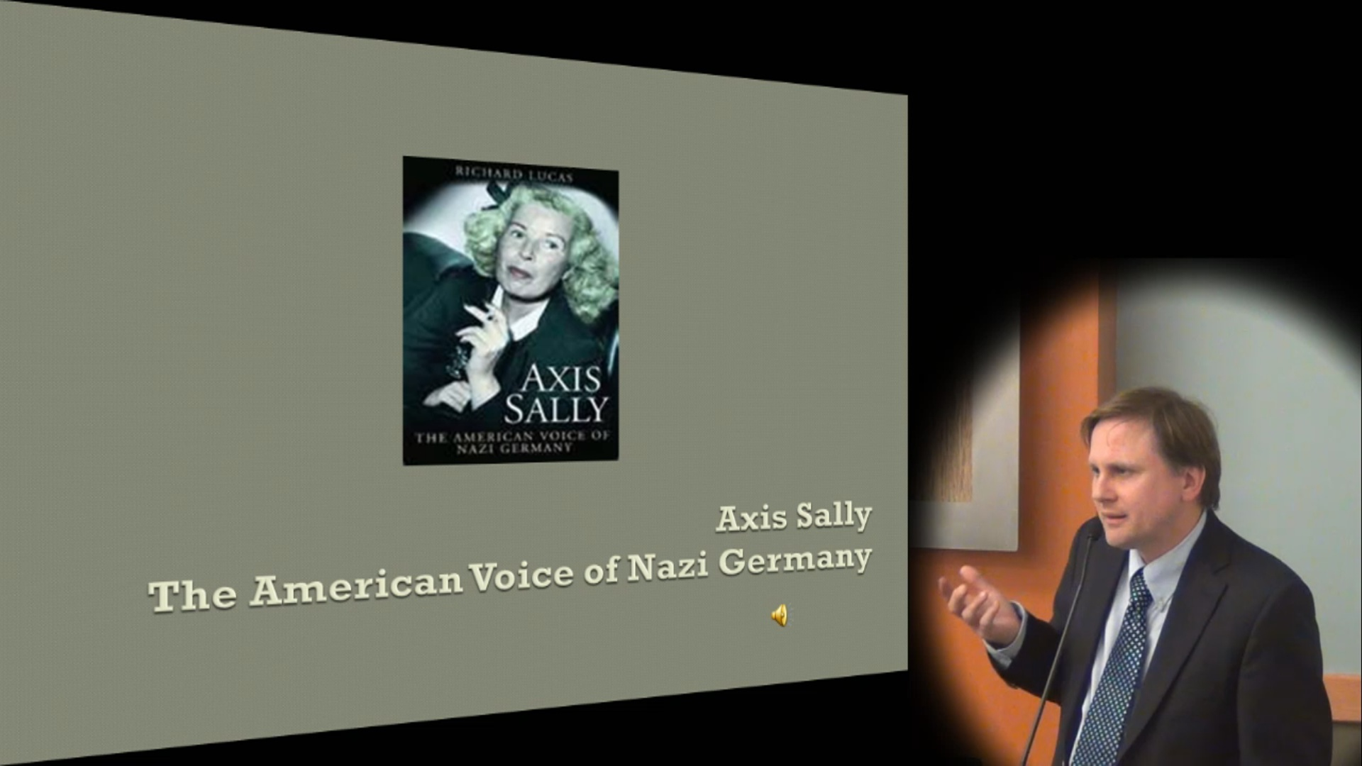 Center for World War II Studies: Axis Sally, The American Voice of Nazi Germany