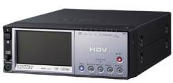 The Sony HVR-M10 can record and play HD video tapes.