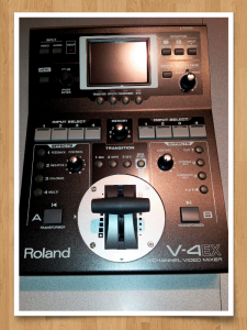 Roland V4-EX video switcher