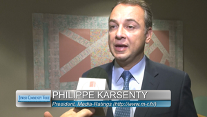 Philippe Karsenty, president of French media watchdog, Media-Ratings