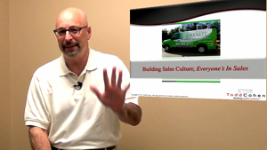 Todd Cohen, sales culture expert and keynote speaker