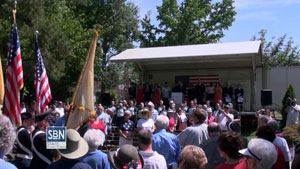 Cherry Hill Township's Memorial Day observance was covered by our StateBroadcastNews.com division.