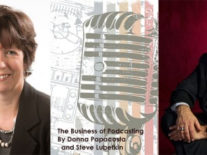 Donna Papacosta, Toronto based podcaster and author, and Steve Lubetkin, LMC's managing partner, are writing a book together. In this podcast, they talk about the book and podcasting in general.