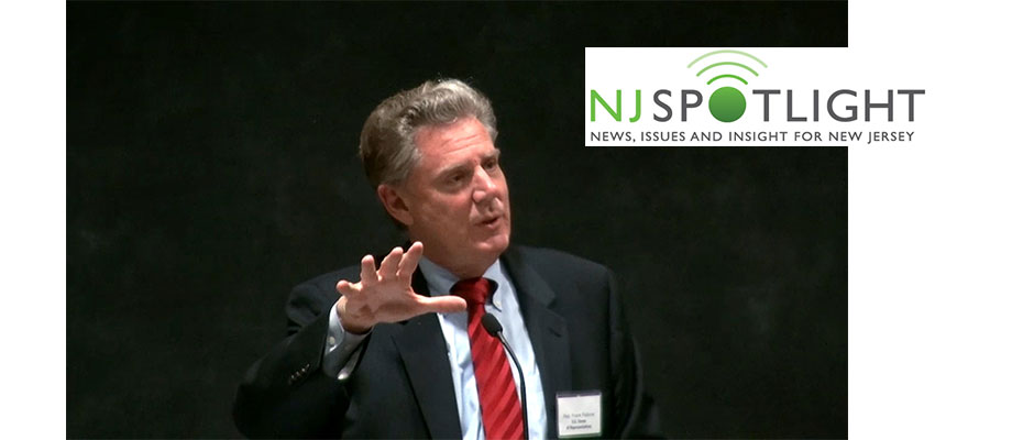Rep. Frank Pallone, D-3, keynote speaker at the NJSpotlight conference on long-term care Sept. 12.