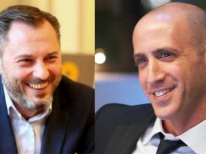 Philippe Borremans, Brussels-based communications counselor, left, and Douglas Quenqua, editor-in-chief of Campaign US magazine, are guests on this week's Lubetkin on Communications podcast.