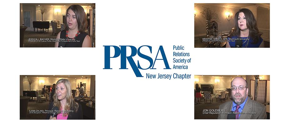 PRSA NJ Pyramid Awards 2016 Banner
