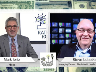"""Steve Lubetkin, right, managing partner of The Lubetkin Media Companies LLC, appears on """"Rainmakers' Roundup"""" with Mark Iorio, a business talk show for entrepreneurs on RVN TV (rvntv.tv)"""